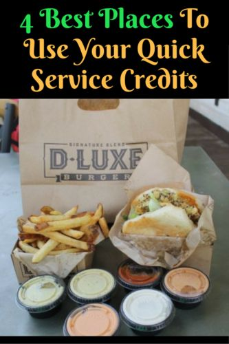 If you are paying for the Disney Dining Plan, you need to make the best use of your credits. Here are the 4 best places to use your Quick Service credits.