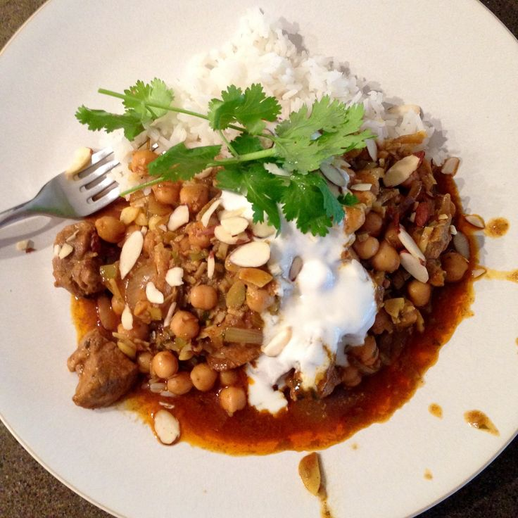 Warming Pork Curry with Perfectly Sweet Coconut Rice