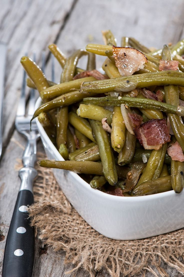Slow Cooker Green Beans, Ham and Potatoes Recipe