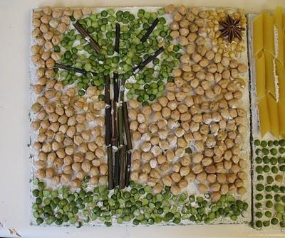 mozaieken met natuur