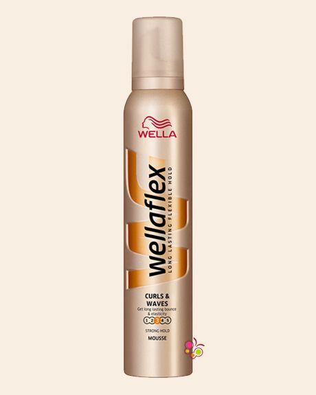 WELLAFLEX Şekillendirici Saç Köpüğü Bukle ve Dalgalı Saçlar 200 ml