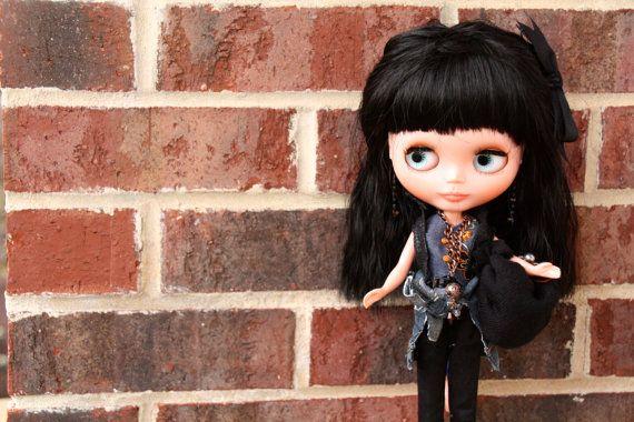 Custom Blythe Clone doll/Bassak doll by ALittleFairyMagic on Etsy
