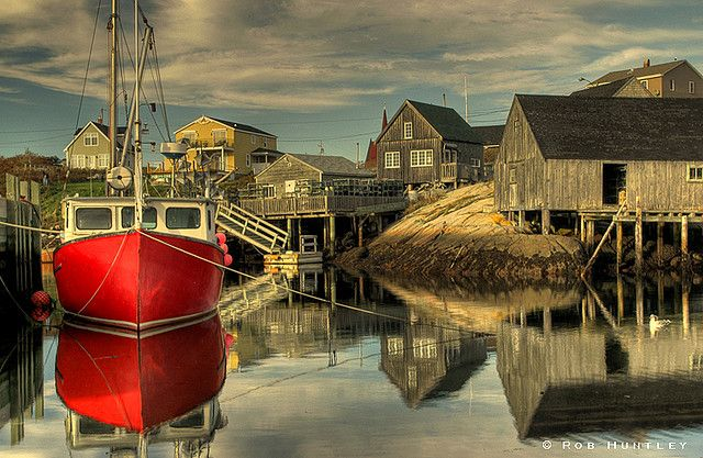 Peggy's Cove, Nova Scotia, New Brunswick