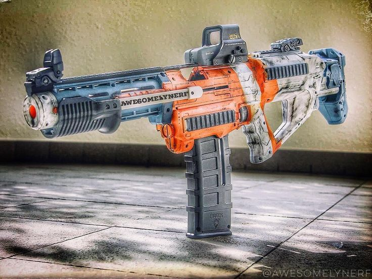 1,203 vind-ik-leuks, 32 reacties - Nerf Gun Attachments (@nerfgunattachments) op Instagram: '#NerfNation!! 👋 What's going on, guys? This is the #Nerf Maliwan Blaster by @awesomelynerf. Look at…'