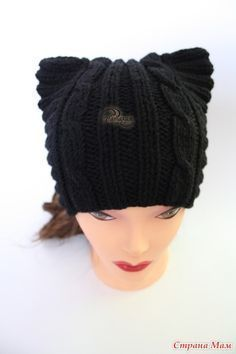 Кото-шапка для девушки - Вязание - Страна Мам