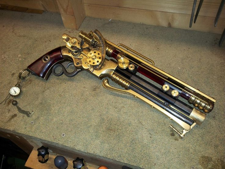 Steampunk Tendencies | Dave Crook's Pistol https://www.facebook.com/groups/steampunktendencies