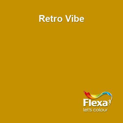 Kleur voor op de muur. Flexa Creations kleur: Retro Vibe