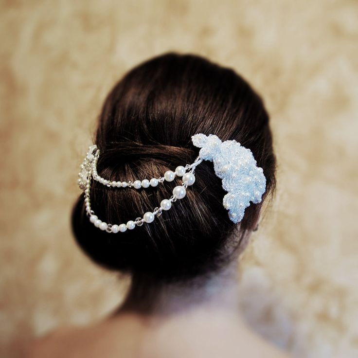 Melissa | Bridal Lace Headpiece wedding hair jewelry bridal hair accessory wedding accessory bridal headpiece wedding hair jewelry by RoyalBrides on Etsy