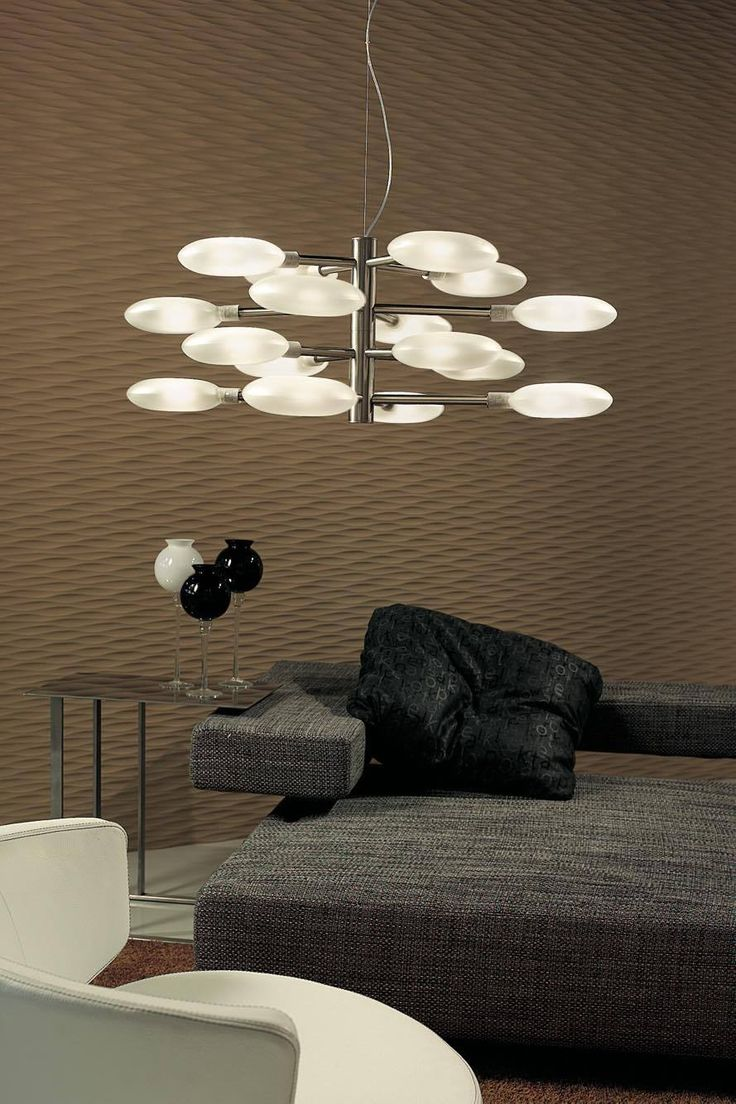 Lollypop by Sphera, a unique way to light up your living room. #lighting #madeinitaly #design #architectual #pendant