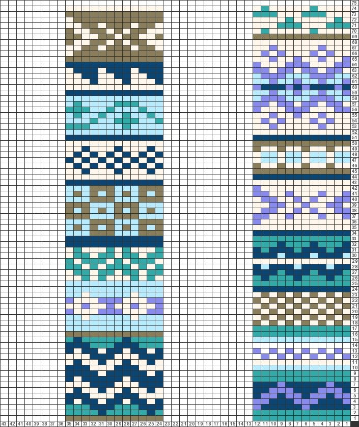 229 best fibercraft - charts and fair isle images on Pinterest ...
