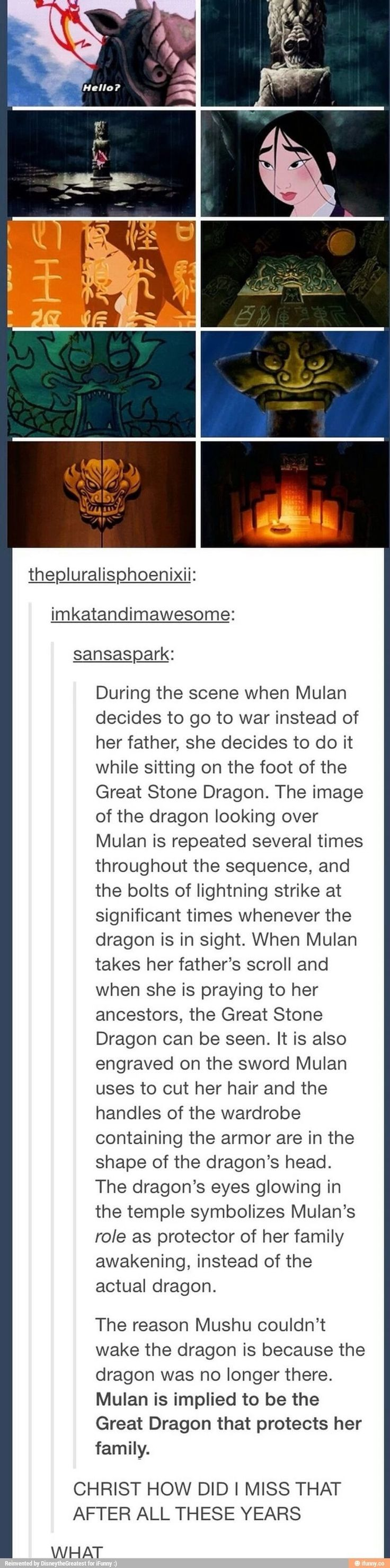 Mulan and the Great Stone Dragon