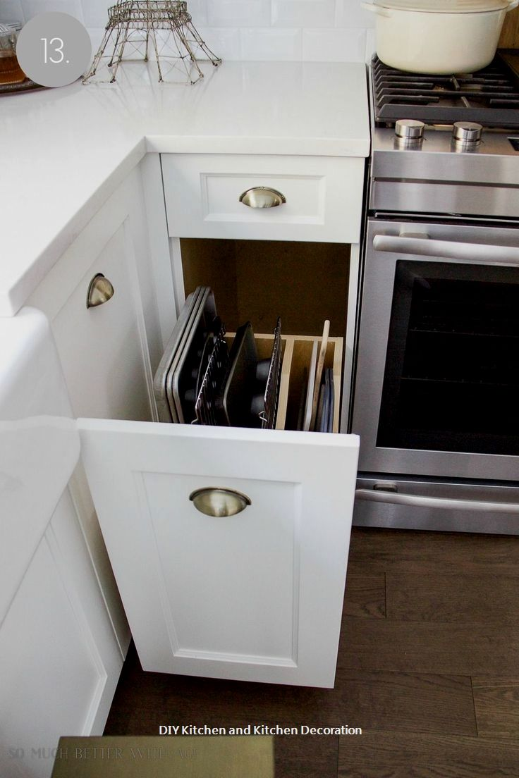 diy kitchen drawer ideas kitchen remodels kitchen cupboard rh pinterest com