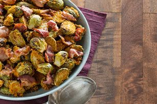 SHAKE 'N BAKE Brussels Sprouts & Bacon Recipe - Kraft Recipes