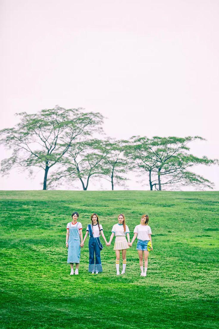 [L-to-R] Newsun ; Sumin ; Nahyun ; D.Ana