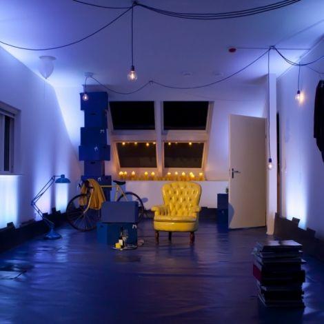 blauwe huizen | De locatievoorstelling 'Het Blauwe Huis' was in 2012 te zien in een ...