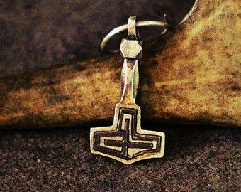 Viking Amulet Thor's Hammer Small Pendant Gotland by Mojoviking