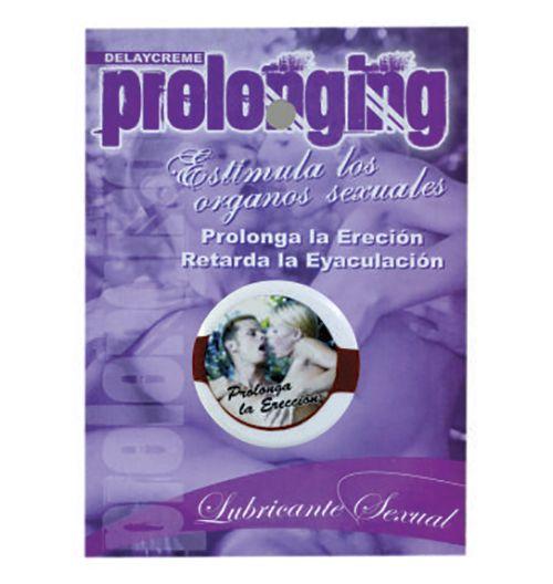 Prolonging – Crema que mejora eyaculación precoz y ayuda a la desensibilización mínima necesaria para lograr que la relación sexual sea prolongada
