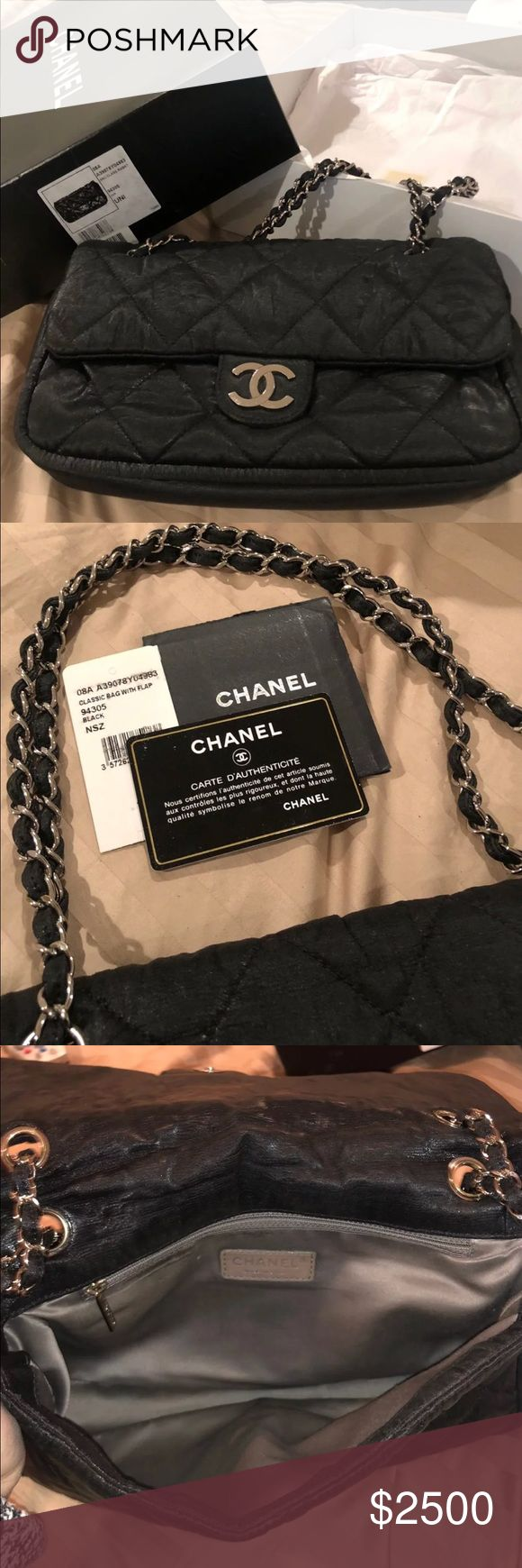 Chanel jumbo flap quilted Le Marais medium This is a 100% authentic classic jumbo flap quilted Le Marais medium bag. Great condition. I have all the tags and duffle bag and box included. Awesome bag. Dimensions are 12L 7H 3W CHANEL Bags Shoulder Bags