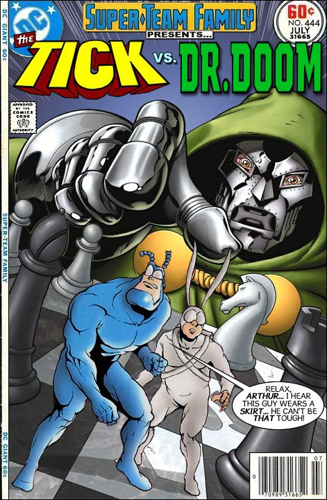 Super Team Family The Lost Issues The Tick Vs Doctor