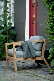 Virkelyst Chair -Teak/Grey