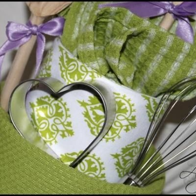 Great idea for a bridal shower gift ideas pinterest for Bridal shower kitchen tea ideas