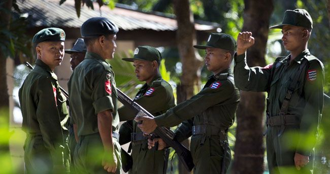 Burma army says ethnic rebels kill 7 govt troops
