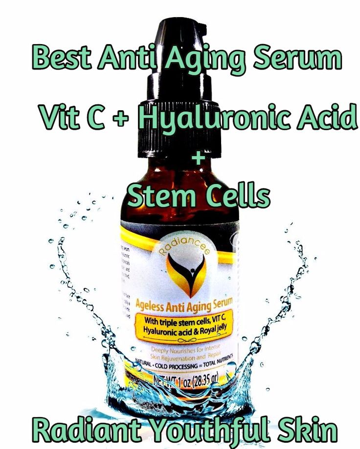 3 in 1 Facial Serum - Vitamin C and Hyaluronic Acid & Triple Stem Cells - Sale 67% Off - Very Effective and Potent Anti Aging Anti Wrinkle Smoothing Serum for Face - Best for Wrinkles , Skin Tightening - Removes Dark Spots, Fine Lines, Blemishes & Scars.  5 Star Reviews  Get it now on Amazon.com