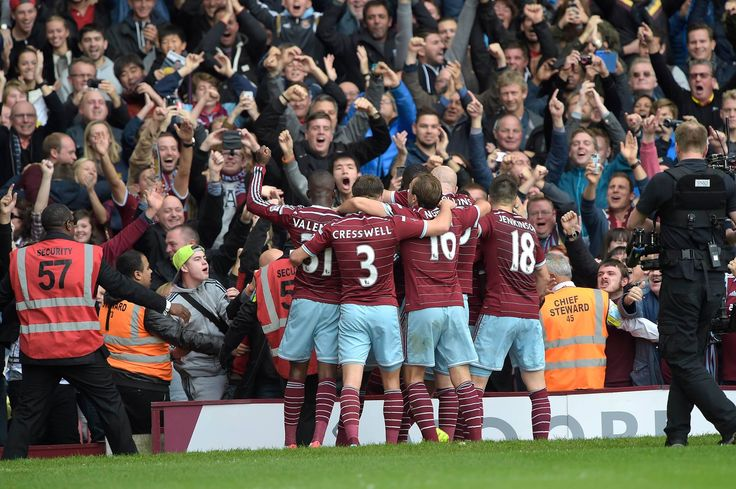 @WestHam the team with all the hammers fans #9ine