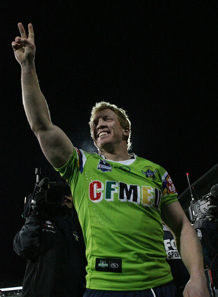 2010 NRL Rd 25 - Canberra Raiders v Cowboys - Alan Tongue