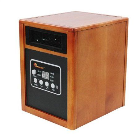 Dr Infrared Heater Quartz + PTC Infrared Portable Space Heater - 1500 Watt, UL Listed , Produces 60% More Heat with Advanced Dual Heating System. - Room Design Tips