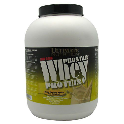 Ultimate Nutrition ProStar Whey Protein - Banana - 5 lb
