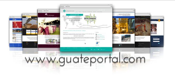 En Guateportal diseñamos y desarrollamos páginas y portales web, para una presencia efectiva de su empresa ú organización en Internet; así mismo, creamos e implementamos aplicaciones web atendiendo las necesidades y requerimientos específicos de cada cliente.