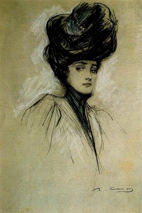 Ramon Casas Julia ca. 1900