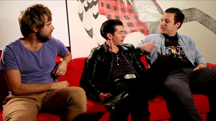 Danny chats with Arctic Monkeys
