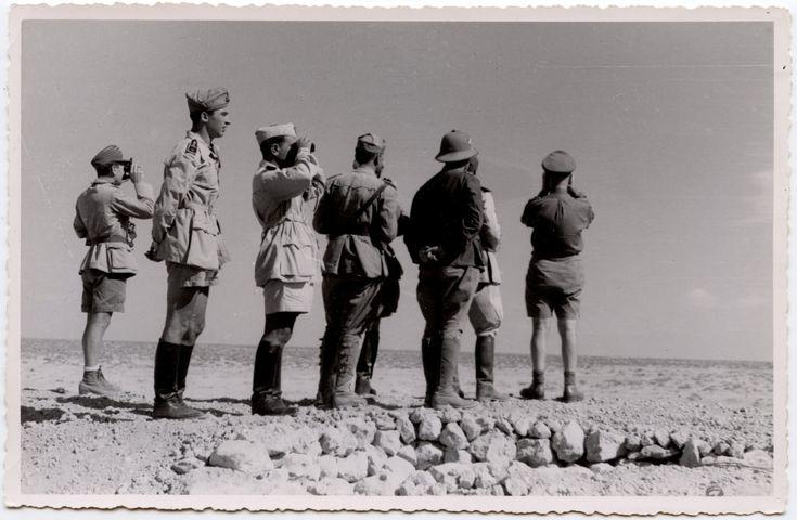 NAZI JERMAN: Album Foto Erwin Rommel Sebagai Panglima Afrikakorps