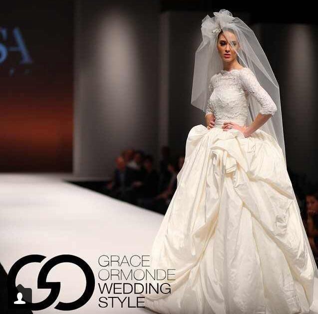 New York International Bridal Week 2015 #ErsaAtelier #FabiolaDress