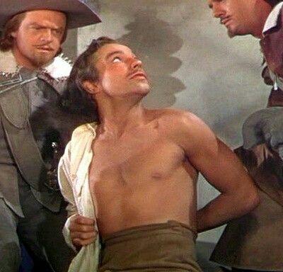 Gene Kelly shirtless in The Three Musketeers ❤❤❤
