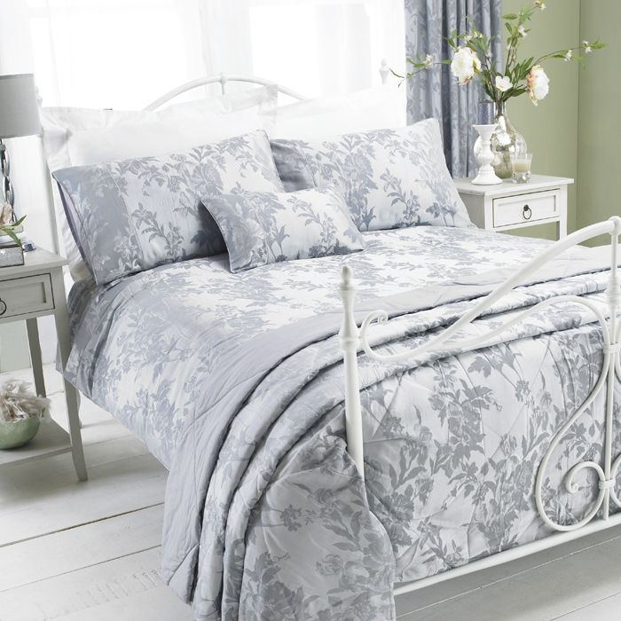 Gray Double Comforter : Best images about bedroom on pewter uk