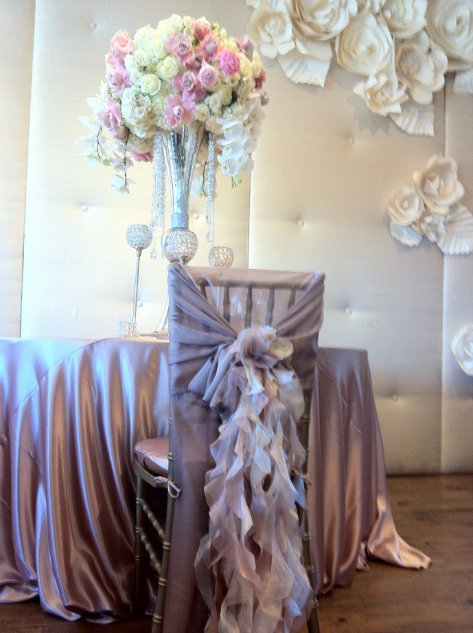 LOVE, LOVE, LOVE! this Centerpiece  Upcoming Wedding at the Langham Pasadena Hotel