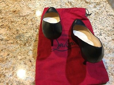 Christian Louboutin Pro Rata Black Pumps Size 36.5