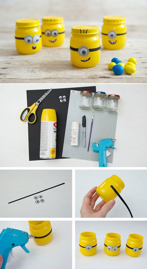 Craft and Gift Ideas with Baby Food Jars | http://diyready.com/23-amazing-diy-uses-of-baby-food-jars/