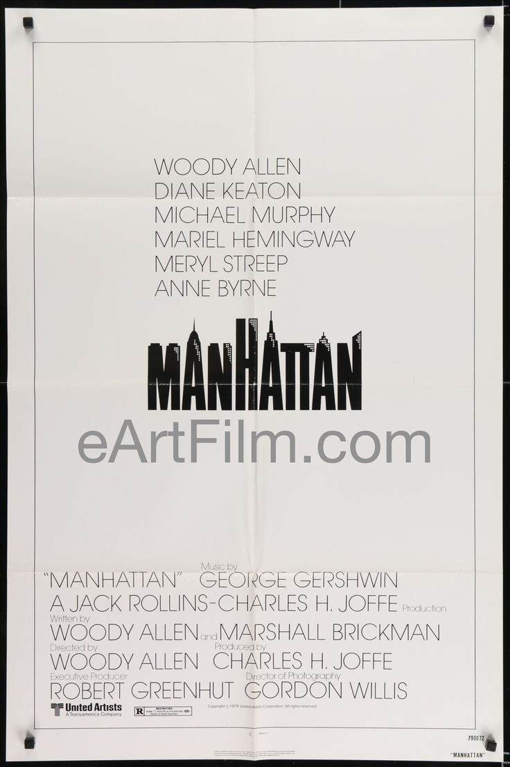 Now available in our store: Manhattan-Woody A... See for yourself! http://eartfilm.com/products/manhattan-woody-allen-diane-keaton-meryl-streep-mariel-hemingway-1979-27x41?utm_campaign=social_autopilot&utm_source=pin&utm_medium=pin