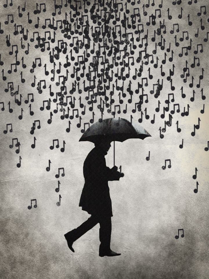 "She's in a long black coat tonight, waitin for me in the downpour outside She's singing ""Baby come home"" in a melody of tears while the rhythm of the rain keeps time... I remember"