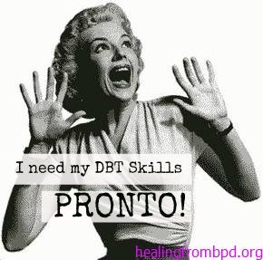 I don't feel like it! | Using DBT Skills (Even when you don't feel like it)