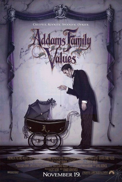 Movie #111 of 2015 - Addams Family Values - 4/5 stars