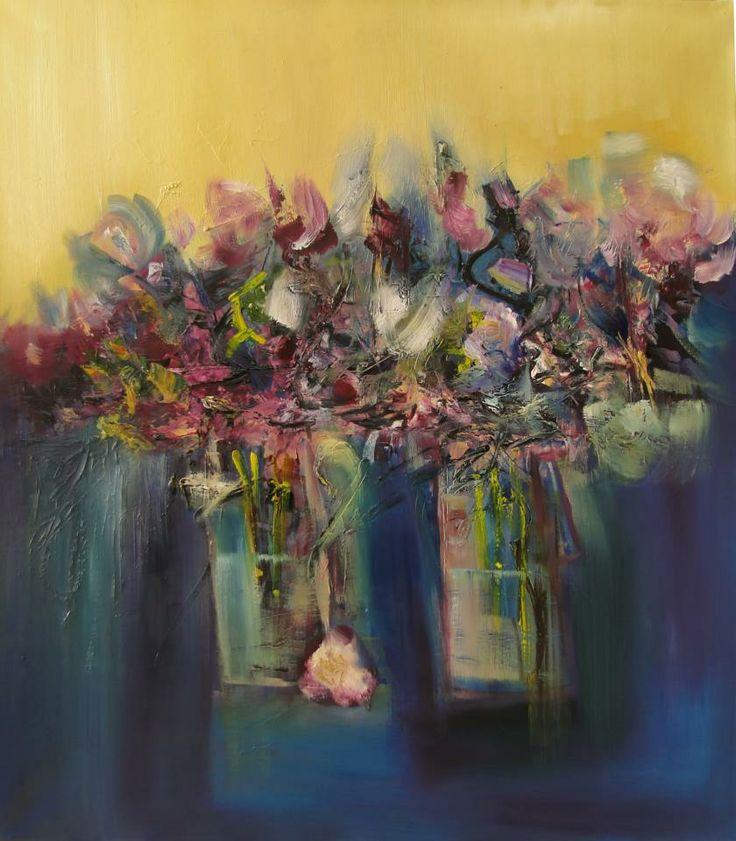 """Remembranzas"" - Monica Medina - Oleo sobre tela - 70 x 80 cm www.esencialismo.com"