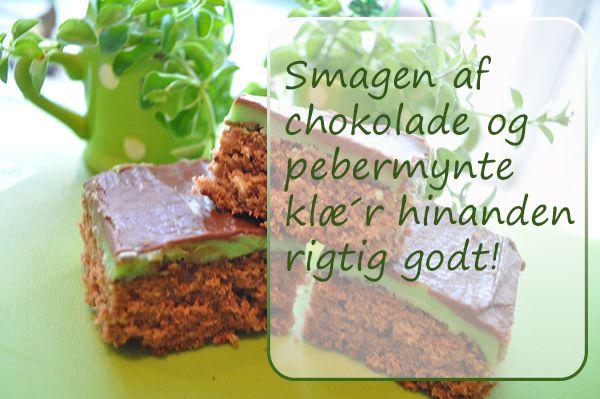 Chocolate Mint Sticks – Jensens-Madblog