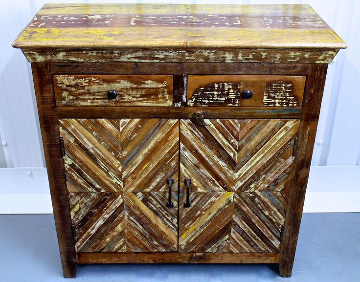 Extravagant Reclaimed Wooden Cabinet