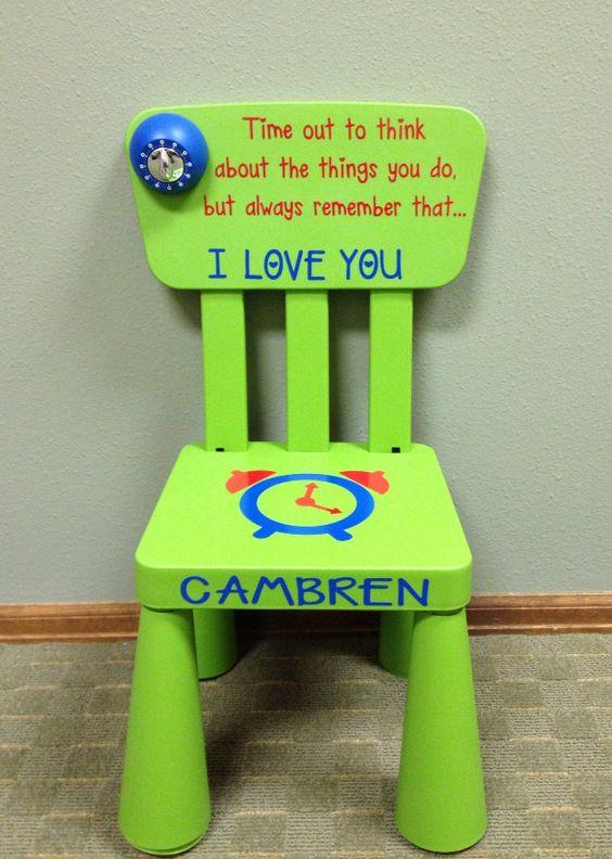 """La tenera sedia delle punizioni:""""ora rimani un po' qui a meditare su ciò che hai fatto, ma ricordati sempre che ti voglio bene"""""""
