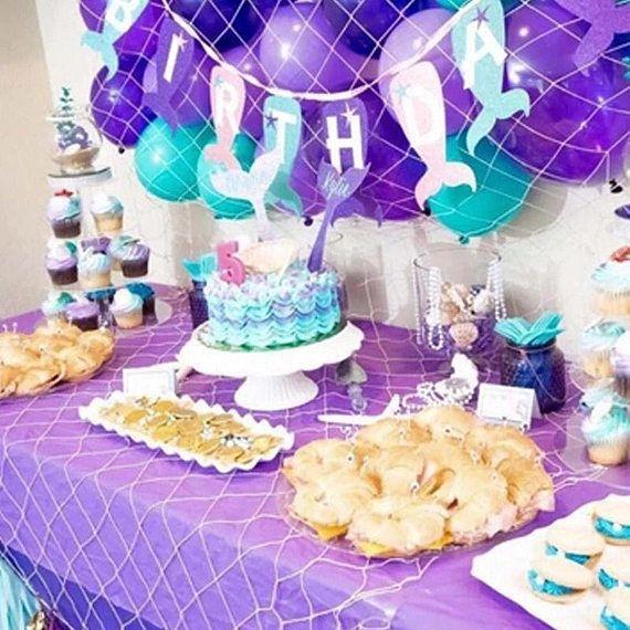 Mermaid Party Supplies Mermaid Birthday Party Decoration Mermaid